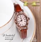 女錶復古手錶學生酒桶韓版簡約時尚潮流帶時裝機械石英錶防水 依凡卡時尚