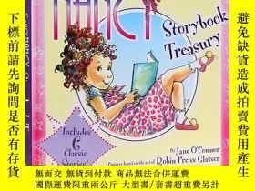 二手書博民逛書店時尚俏妞南茜故事合集罕見英文原版 FANCY NANCY STORYBOOK TREASURY 內含6個故事Y