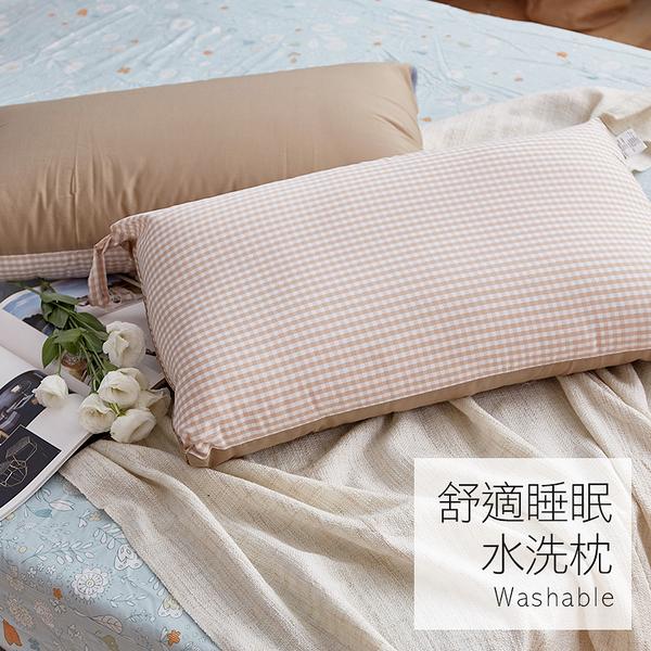 枕頭 / 水洗枕【樂芙舒適睡眠水洗枕】特殊網狀設計 戀家小舖台灣製