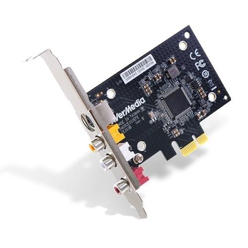 (客訂商品,請來電詢問) AverMeida 圓剛 Composite S-Video 介面 標清 PCIe 影像擷取卡 CE310B