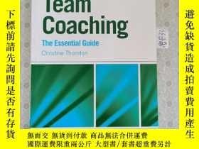 二手書博民逛書店32開英文原版罕見Group and Team Coaching : The Essential GuideY