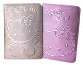 【卡漫城】 Hello Kitty 閃亮 護照套 二款選一 ㊣版 壓紋 證件套 卡片 收納 凱蒂貓 合成皮 仿皮革