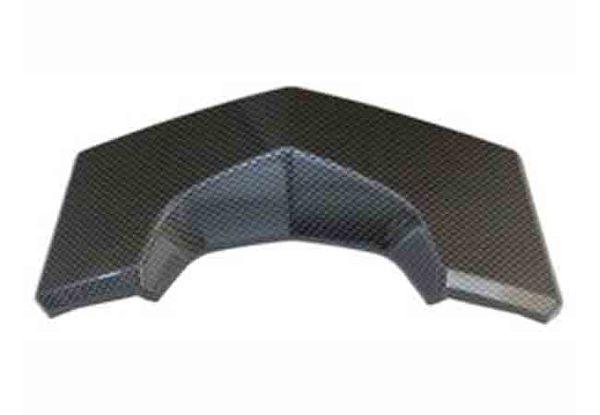 KYMCO光陽機車NIKITA類碳纖維紋路後煞車燈殼下飾板