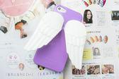 APPLE iphone5 ise i5s 立體 天使 翅膀 手機殼 背蓋 可收耳機線 MQueen膜法女王