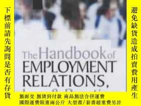 二手書博民逛書店The罕見Handbook Of Employment Relations: Law And Practice-雇