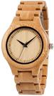 Bewell【日本代購】復古懷舊竹錶 男士手錶 日本石英手錶 輕便休閒