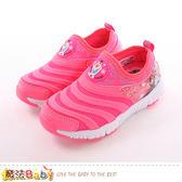 女童鞋 迪士尼冰雪奇緣正版超輕量閃燈慢跑鞋 魔法Baby