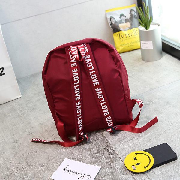 (全館免運) DE shop - 日系百搭後背包【A-1188】