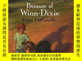 二手書博民逛書店紐伯瑞獎英語有聲Because罕見of Winn-Dixie 2