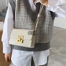 包包 流行小包包女新款潮高級復古單肩包簡約百搭斜挎包 【快速出貨】