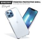 Relight睿亮極致手感保護殼 蘋果防摔殼 iPhone 13 mini pro 13proMax 親膚磨砂透明手機殼