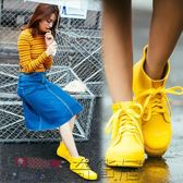 女士雨鞋短筒雨靴低幫防滑膠鞋潮
