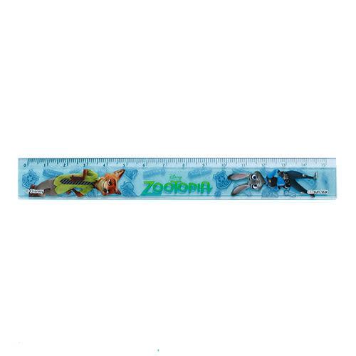 《sun-star》動物方城市15cm塑膠直尺(CG動畫藍)★funbox生活用品★_UA48641
