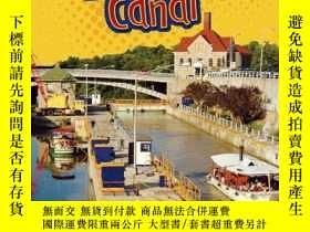 二手書博民逛書店The罕見Erie Canal (Lightning Bolt Books Famous Places)-伊利運河