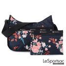 LeSportsac - Standard側背水餃包/流浪包-附化妝包 (峽谷玫瑰) 7520P E297