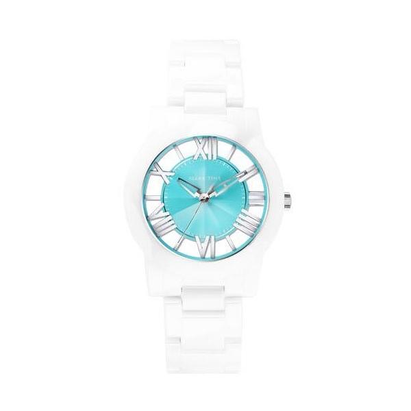 【Relax Time】Diamond羅馬鏤空時尚陶瓷腕錶-活潑綠/RT-53-9/台灣總代理公司貨享一年保固