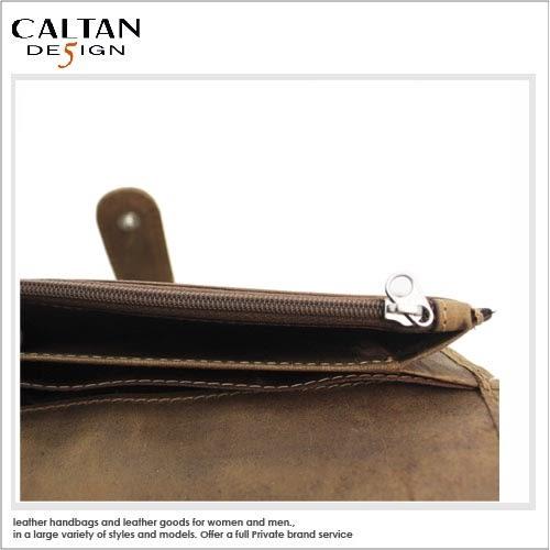 牛皮/長夾 【CALTAN 】高質感多功用真皮長夾2043ht