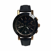 【Folli Follie】精緻奢華簡約三眼時尚腕錶-個性黑/WF18R030SEK_BK/台灣總代理公司貨享兩年保固