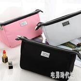 韓版化妝品收納袋大容量便攜隨身小號簡約可愛軟妹化妝包 DJ8208【宅男時代城】