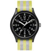 TIMEX 天美時(TXTW2R81000) MK1 軍錶 手錶/銀黃/40mm