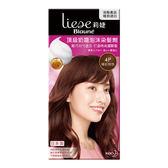 莉婕頂級奶霜泡沫染髮劑4P暖紅棕【康是美】
