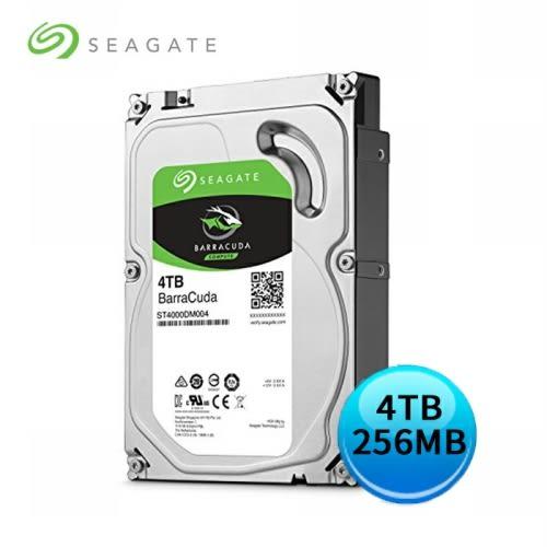 Seagate BarraCuda 新梭魚 4TB 3.5吋 桌上型硬碟 (ST4000DM004)