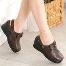 *流行經典/包拖兩用/MODO--THE ONE 氣墊鞋 (全牛皮)-B50309  咖啡