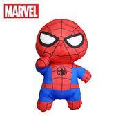 【日本正版】蜘蛛人 可愛畫風 玩偶 40cm 娃娃 擺飾 MARVEL 漫威英雄 復仇者聯盟 SEGA - 300820