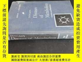 二手書博民逛書店DUNCAN S罕見Diseases of Metabolism