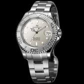 【台南 時代鐘錶 勞斯丹頓】ROSDENTON 爆破司令剛毅性格男錶 機械錶 2502M-H 銀 40mm