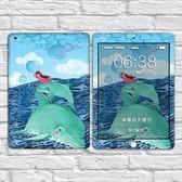 蘋果訂製制ipad新款彩膜背膜創意後膜貼紙ipad air2全身保護膜  艾美時尚衣櫥