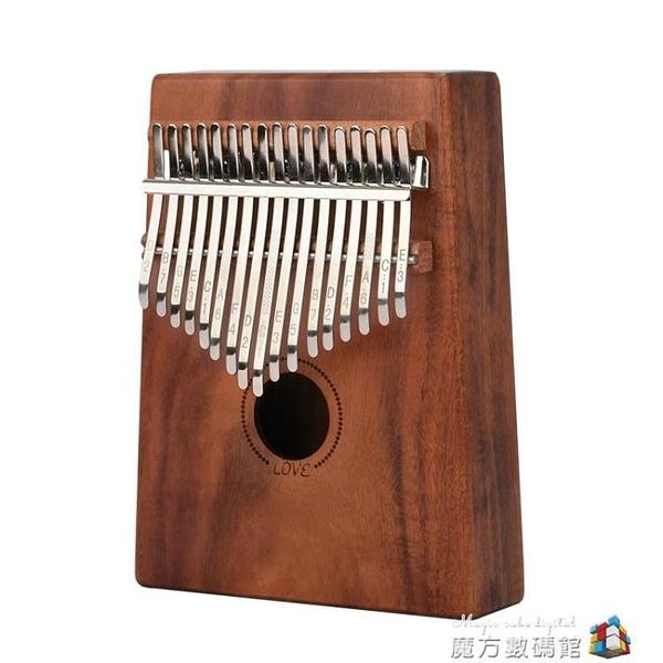 guitarist拇指琴单板卡林巴琴专业初学者全单17音入门手指琴乐器魔方數碼