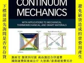 二手書博民逛書店Fundamentals罕見Of Continuum Mechanics: With Applications T