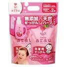arau baby愛樂寶 - 無添加 嬰幼兒洗衣精補充包 720ml/2入