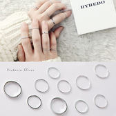 戒指  10件一組  簡單時尚風格十件套戒指 -維多利亞190461