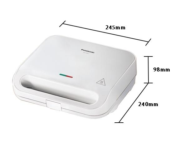《Panasonic 國際牌》 3種人氣烤盤 鬆餅機 NF-HW1