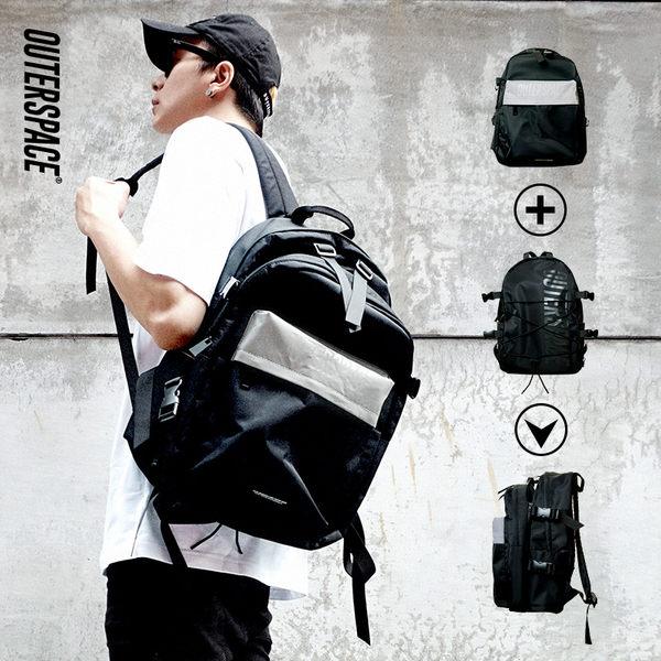 OUTER SPACE 包包背包包輕量版(黑)