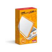 現貨中任天堂 New Nintendo 2DSLL 輕薄型日規機種 日文介面非3DSLL 白X橙色【玩樂小熊】