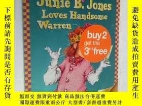 二手書博民逛書店Junie罕見B. Jones Loves Handsome W