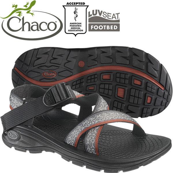 Chaco EZM01-HB31冰裂灰 男冒險旅遊涼鞋-Z/Volv標準款休閒鞋