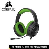 CORSAIR 海盜船 HS35 STEREO 立體聲電競耳機 草綠