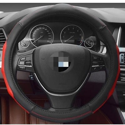 運動方向盤套 方向盤護套 方向盤 真皮 PU BMW BENZ VW TOYOTA FORD 三菱沂軒精品 A0155
