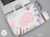 手提包電腦包手提包電腦包15.6男女筆記本14寸公文包小清新保護套