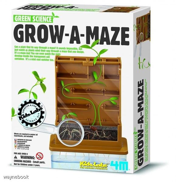 【4M】00-03352 科學探索系列 植物迷宮 GROW-A-MAZE