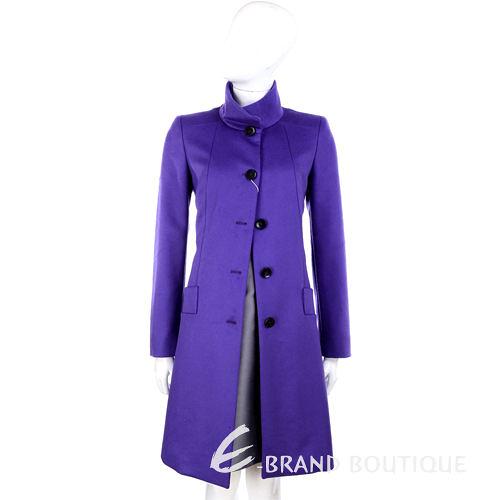 MARELLA 紫色立領羊毛大衣 1340016-04