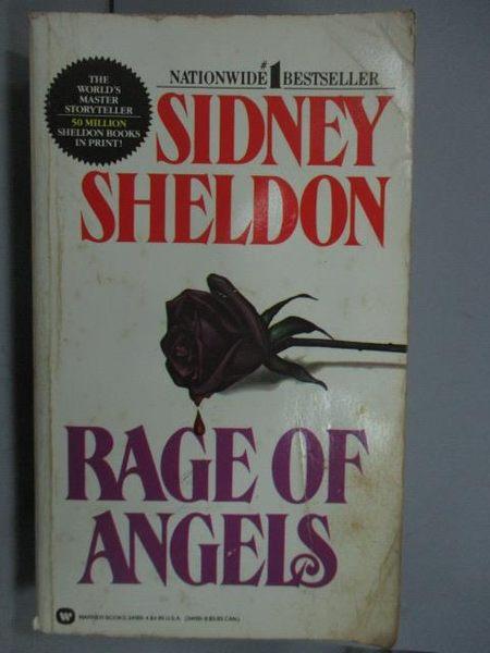 【書寶二手書T2/原文小說_LPE】Rage of Angel_Sidney Sheldon