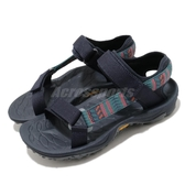 Merrell 涼拖鞋 Kahuna Web 藍 灰 女鞋 魔鬼氈 戶外涼鞋 涼鞋 【ACS】 ML002052