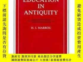 二手書博民逛書店A罕見History Of Education In AntiquityY256260 H.i. Marrou