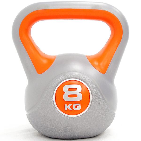 競技8KG壺鈴(17.6磅)運動8公斤壺鈴.拉環啞鈴搖擺鈴舉重量訓練用品重力設備健身器材KettleBell