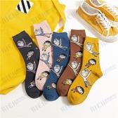 櫻桃小丸子襪子可愛女日系軟妹創意卡通中筒襪韓版ulzzang學生襪